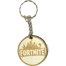 Fortnite Wood Keyring